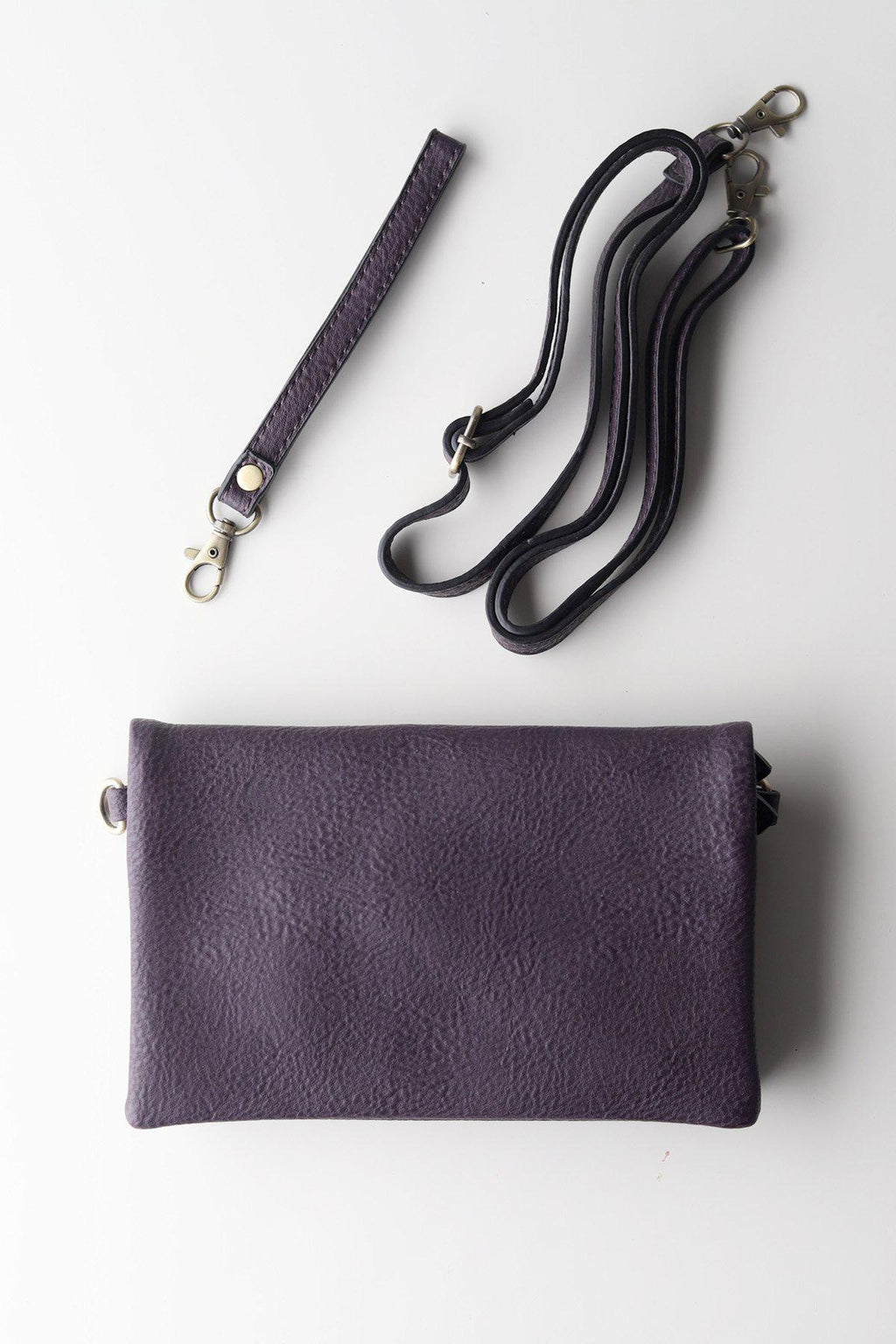 Crossbody Clutch / Eggplant - Gallery 512 Boutique