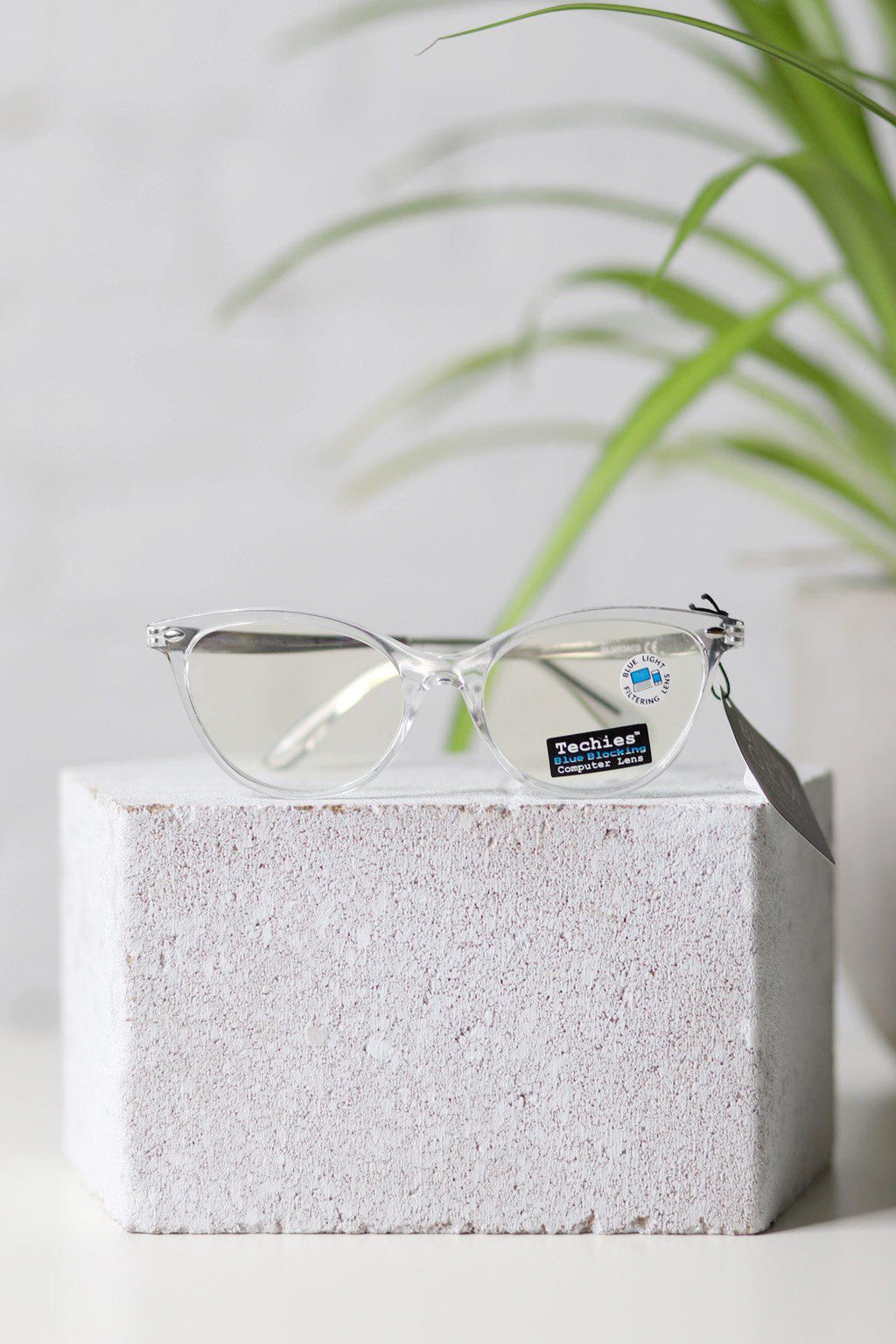 Blue Gem Clear Blue Light Glasses - Gallery 512 Boutique