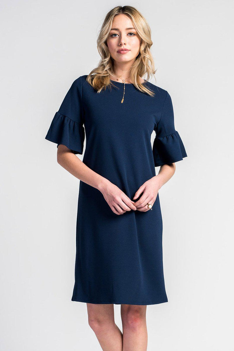 Ella Bell Sleeve Dress