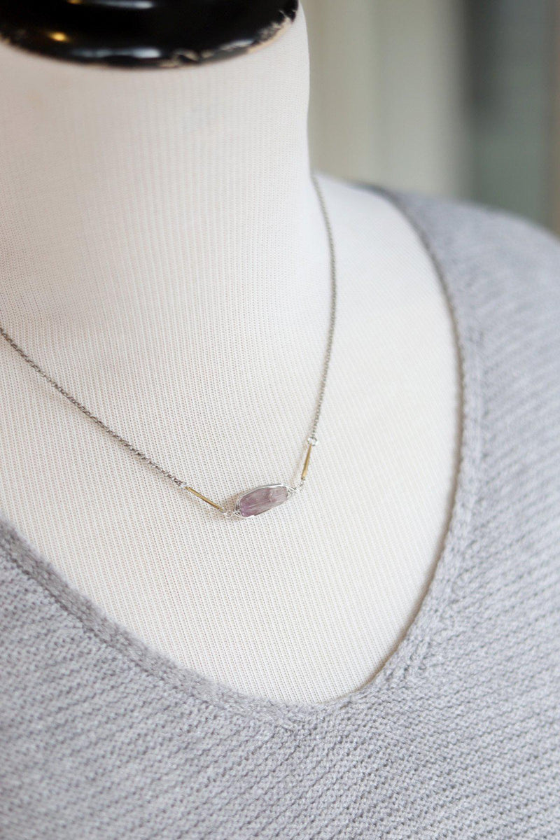 Dainty Amathyst Necklace - Gallery 512 Boutique