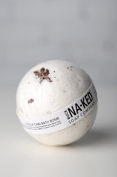 Vanilla Chai Bath Bomb - Gallery 512 Boutique
