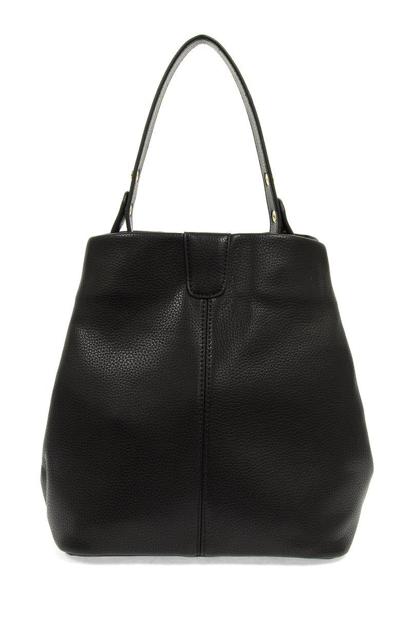 Black Ava Convertible Shoulder Bag - Gallery 512 Boutique