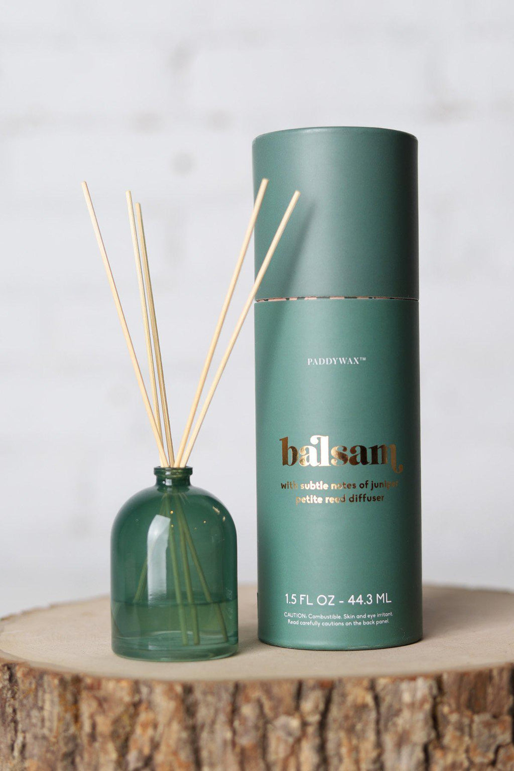 Balsam Fir 1.5 oz Petite Glass Diffuser