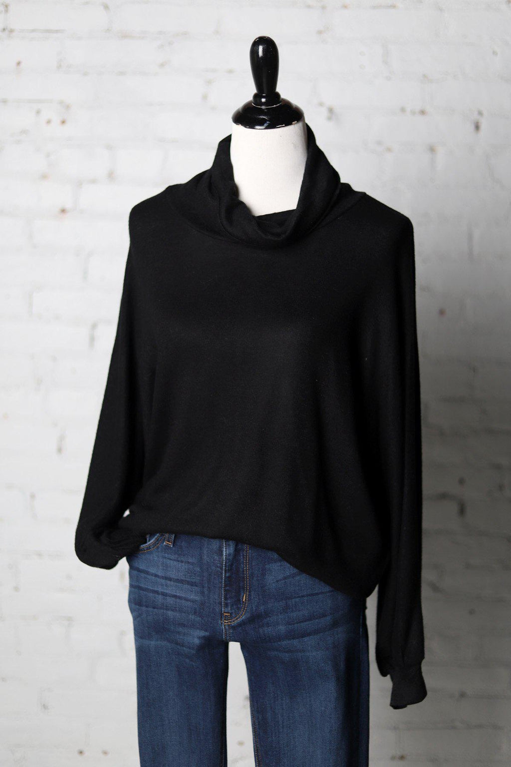 Fallon Cowl Neck Dolman Top