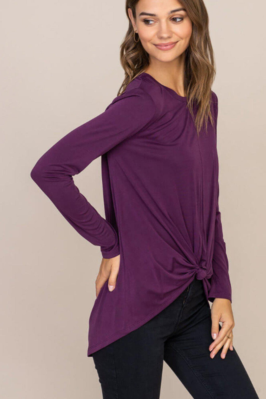 Emme Knotted Front Top