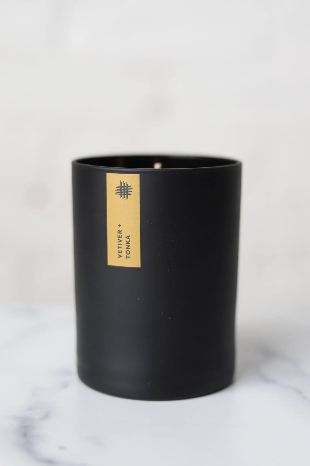 Vetiver + Tonka Black Tumbler