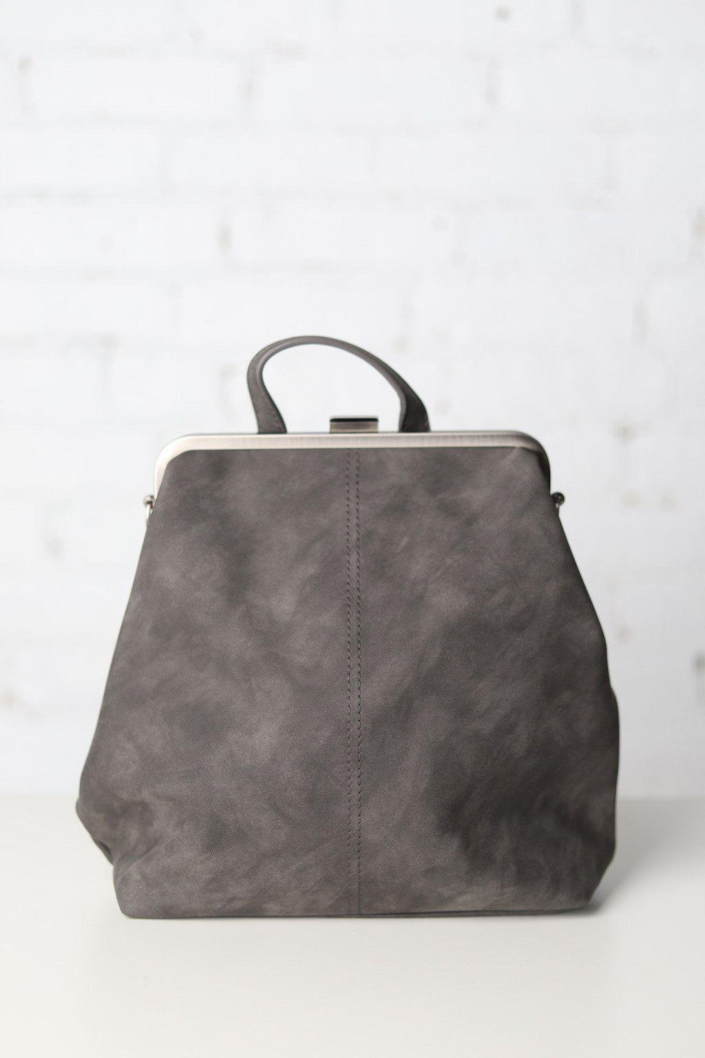 Charcoal Convertible Backpack