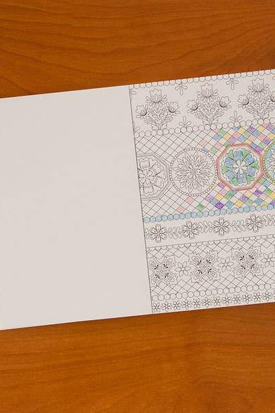 Floral Wonder Pocket Coloring Book - Gallery 512 Boutique