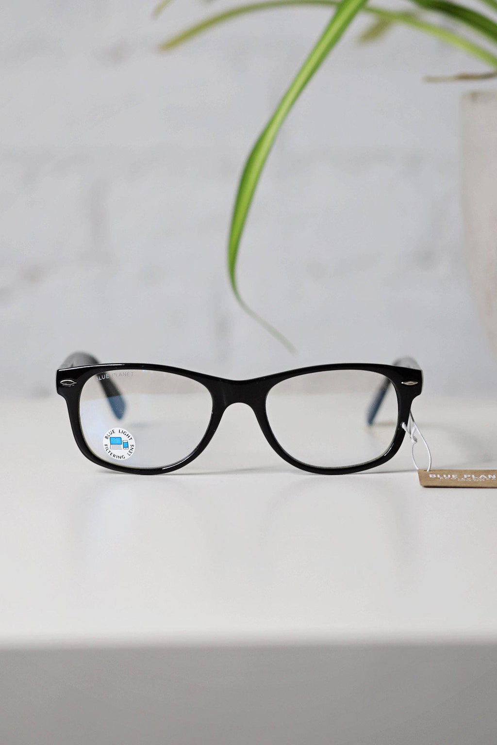 Classic Black Onyx - Unisex Blue Light Glasses - Gallery 512 Boutique