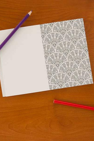 Geometric Pattern Pocket Coloring Book - Gallery 512 Boutique
