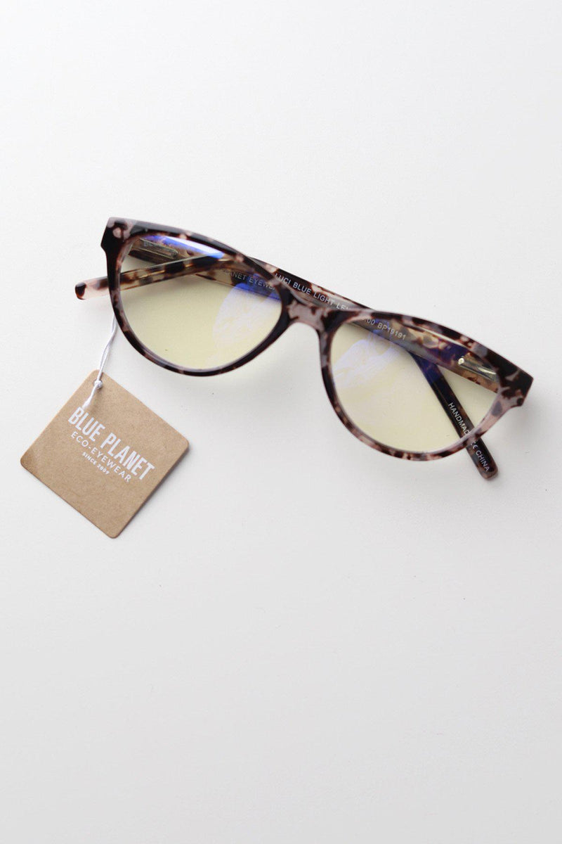 Luci Blue Light Glasses / Ivory Tortoise - Gallery 512 Boutique