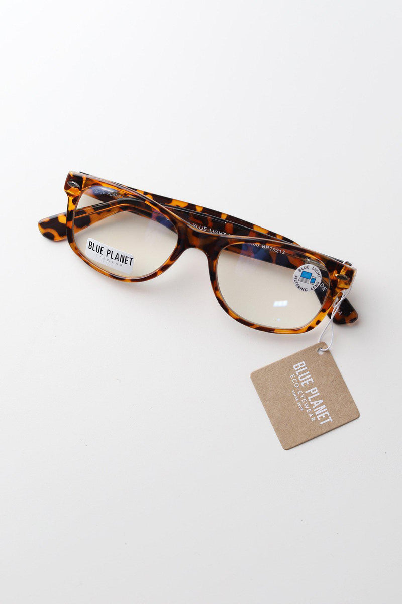 Classic Blue Light Glasses / Tortoise - Gallery 512 Boutique