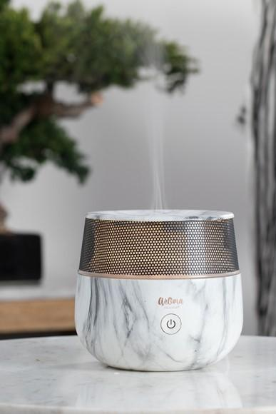 White Marble Essential Oil Diffuser - Gallery 512 Boutique