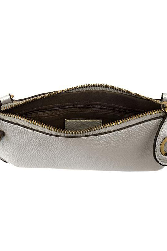 Silver Wristlet Clutch - Gallery 512 Boutique