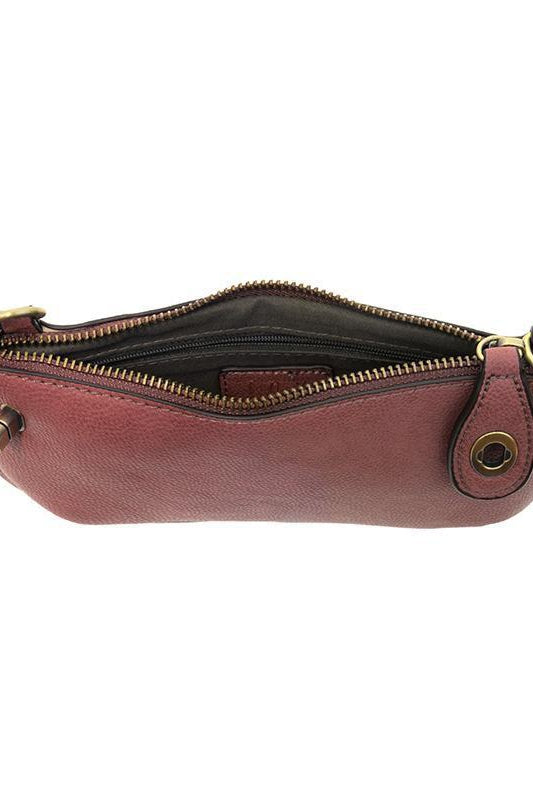 Rasberry Wristlet Clutch - Gallery 512 Boutique