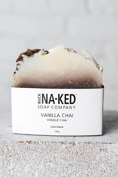 Vanilla Chai Soap (Buck Naked Soap Company) - Gallery 512 Boutique