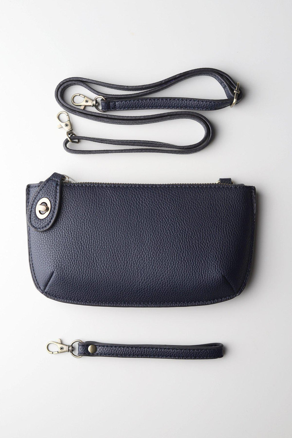 Wristlet Clutch / Navy - Gallery 512 Boutique