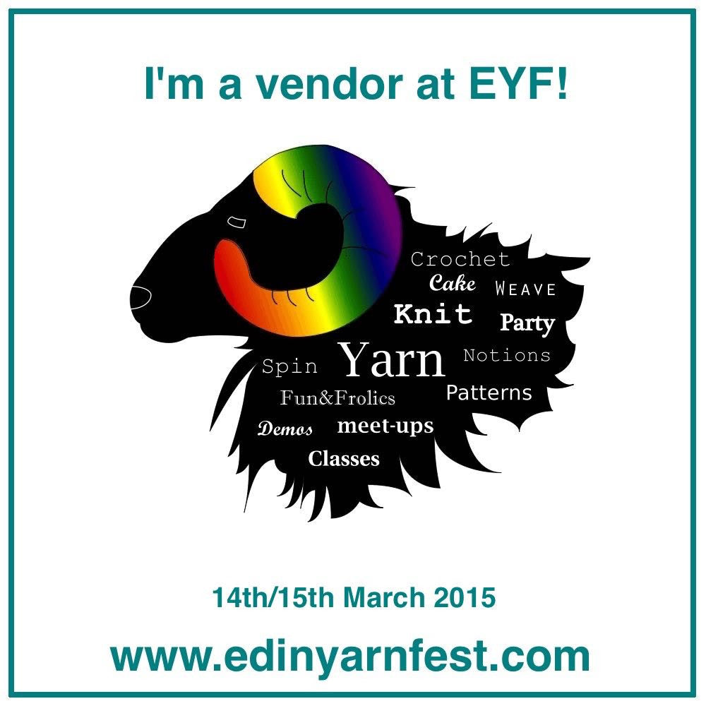 Off to Edinburgh Yarn Festival