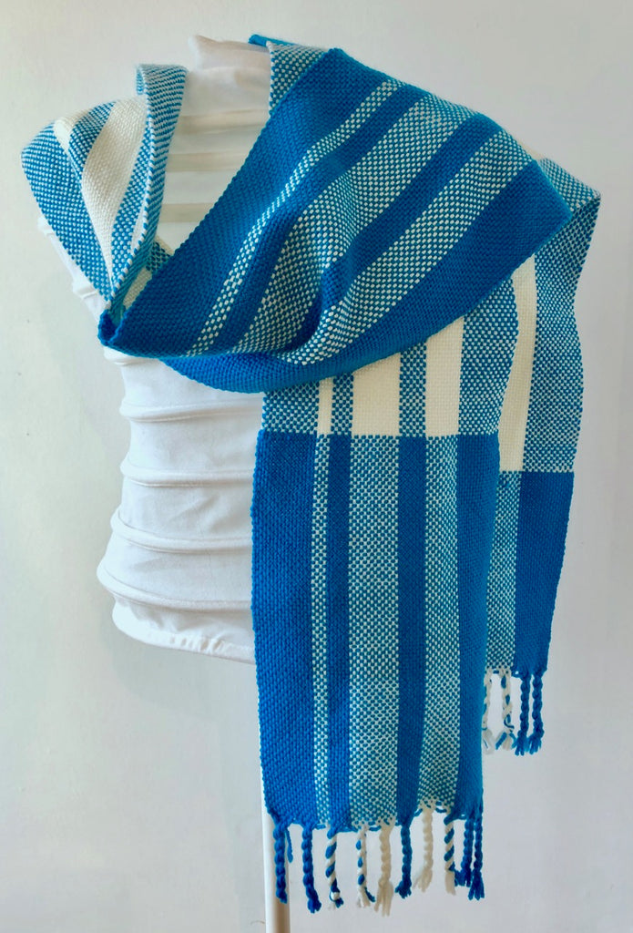 Cornish Summer Skies Scarf Weave-along