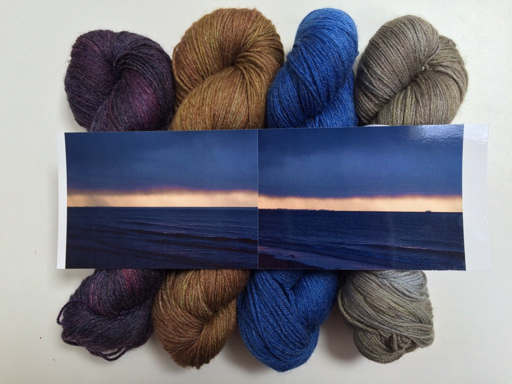 Sunsets and Showers – Yarn