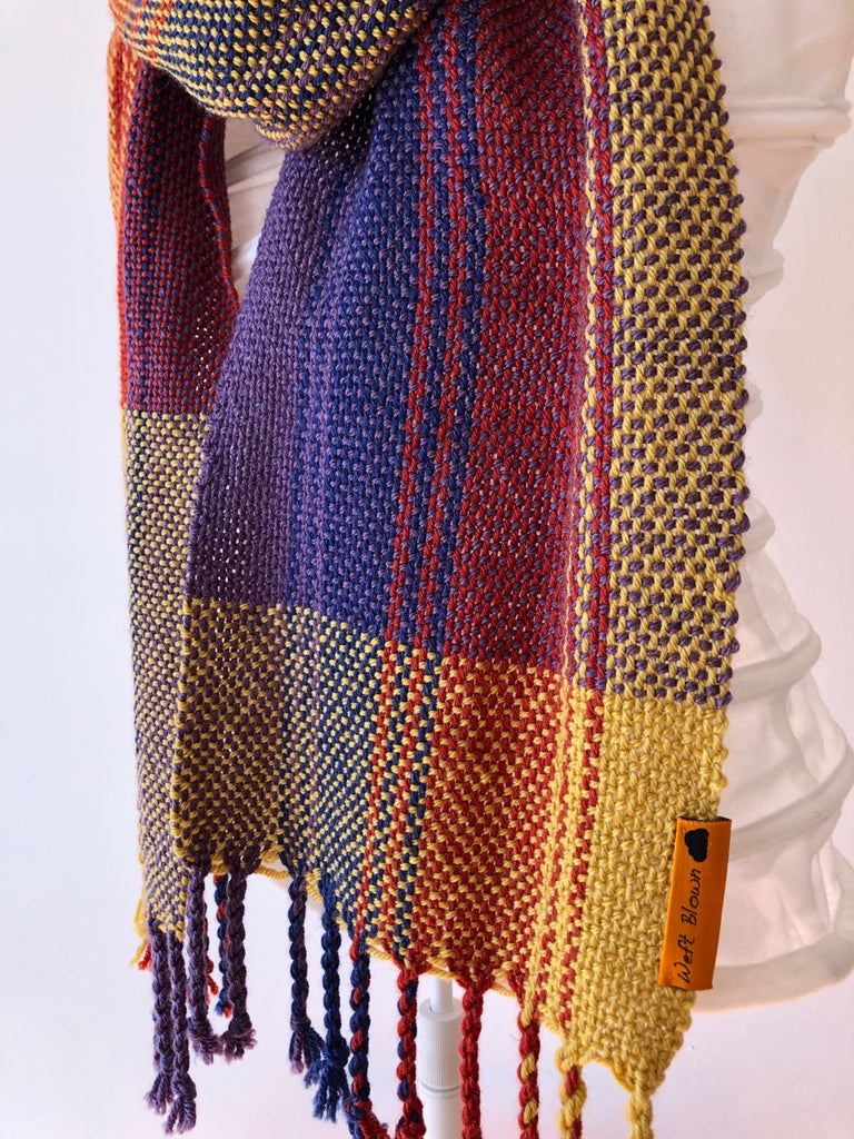Sunset Scarf Weaving Pattern