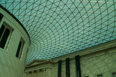 Roof at the British Museum