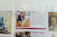 Weft Blown in Homes and Antiques Magazine