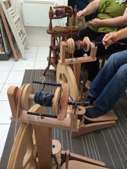 Spinning Class at Weft Blown