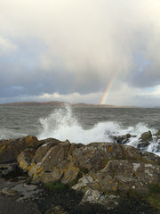 Rainbow over Wee Cumbrae