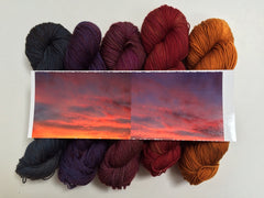 Sunsets in Old Maiden Aunt Merino