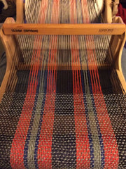 Weaving away for the second time