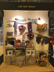 Weft Blown Stand at Scotlands Trade Fair