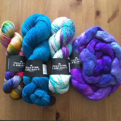 Yarn and fibre from Countess Ablaze