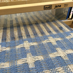 Deflected Double Weave on Louët Jane Table Loom