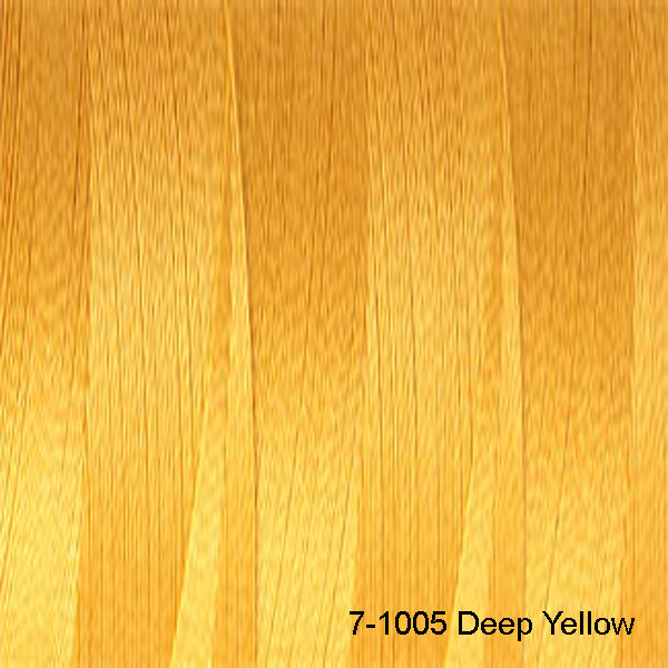 Venne Mercerised 20/2 Cotton 7-1005 Deep Yellow