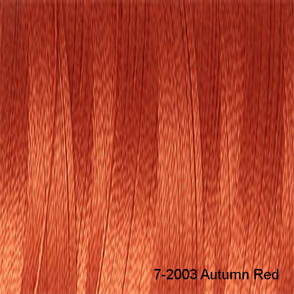 Venne Mercerised 20/2 Cotton 7-2003 Autumn Red