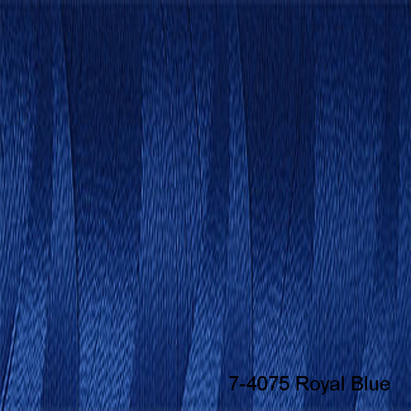 Venne Mercerised 20/2 Cotton 7-4075 Royal Blue