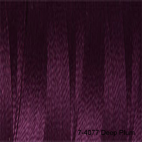 Venne Mercerised 20/2 Cotton 7-4077 Deep Plum