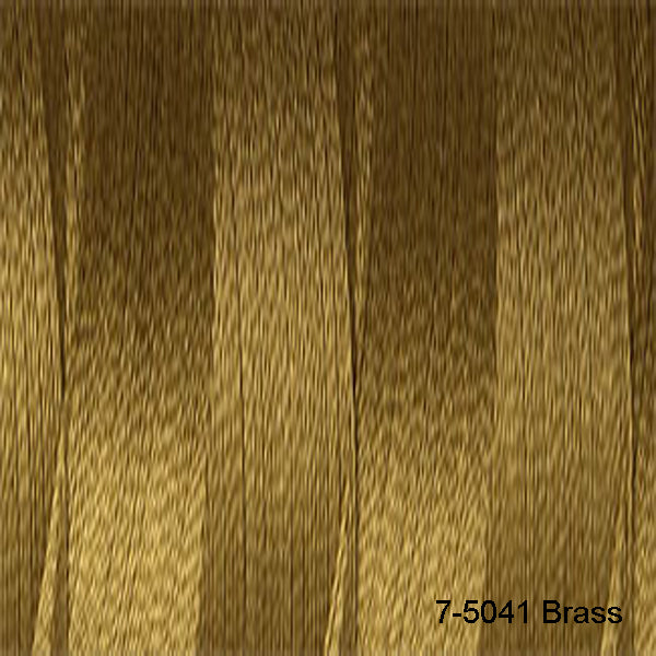 Venne Mercerised 20/2 Cotton 7-5041 Brass