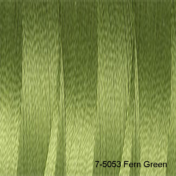 Venne Mercerised 20/2 Cotton 7-5053 Fern Green