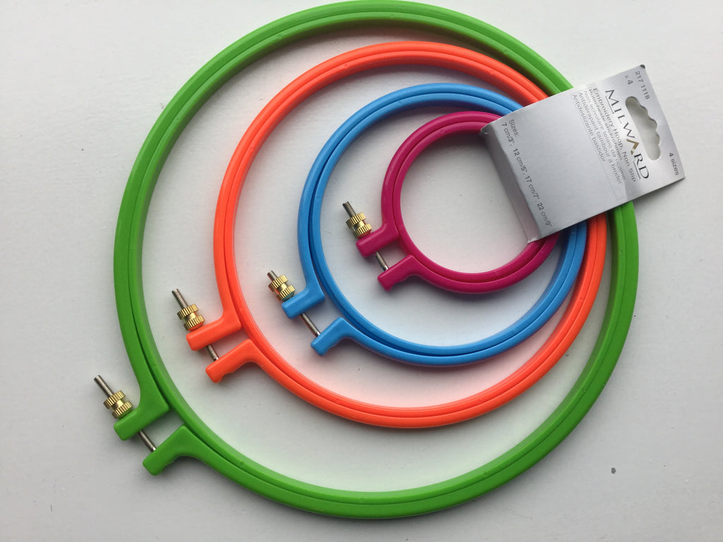 Embroidery Hoop Set - Non-Slip