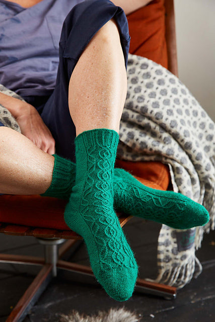 Hedera Helix socks by James Arnall-Culliford