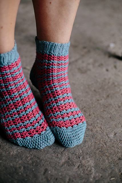 Beruna Socks by Joanne Scrace