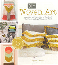 DIY Woven Art by Rachel Denbow book at Weft Blown