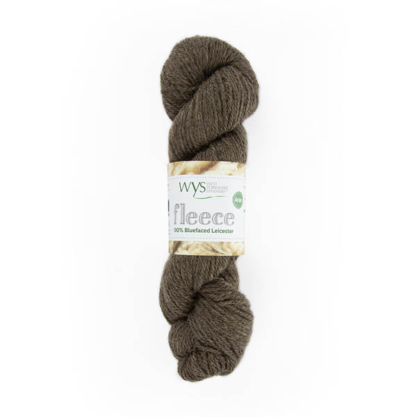 100% Aran Bluefaced Leicester Yarn by West Yorkshire Spinners 100g Brown