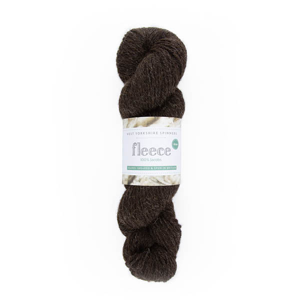 100% Aran Jacobs Yarn by West Yorkshire Spinners 100g Brown/Black