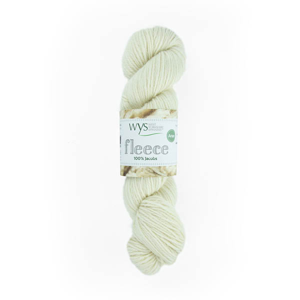 100% Aran Jacobs Yarn by West Yorkshire Spinners 100g Ecru