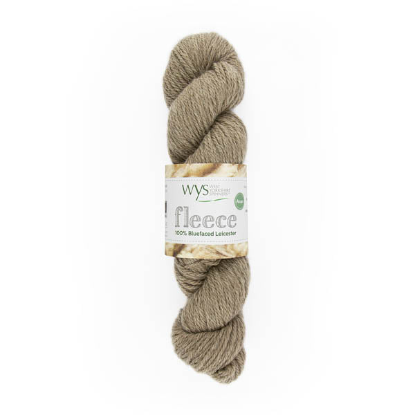 100% Aran Bluefaced Leicester Yarn by West Yorkshire Spinners 100g Light Brown