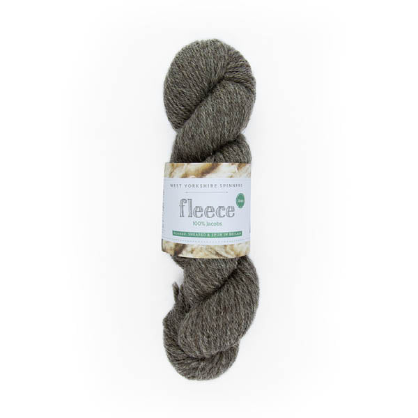 100% Aran Jacobs Yarn by West Yorkshire Spinners 100g Medium Grey
