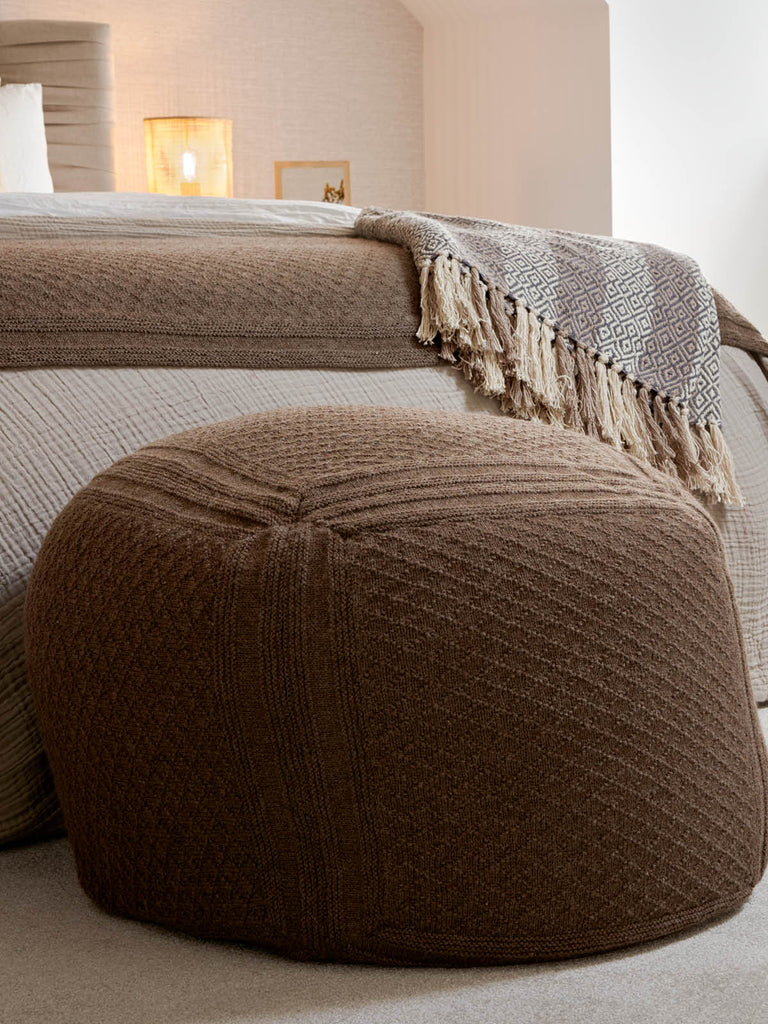 Diamond Bed Runner and Pouffe